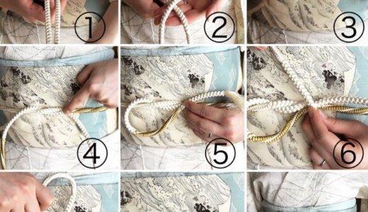 帯留をするとき帯紐はどう縛ればよいのでしょうか!