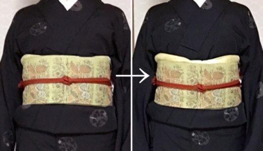 胸の大きい人向けの着物の補正方法をお伺いしたいです。